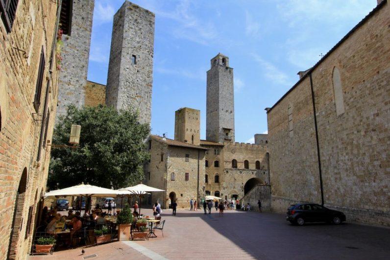 San Gimignano is een prachtig dorpje in Toscane en bekend door haar vele torens