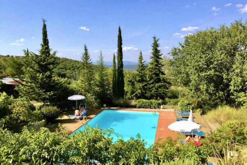 Heerlijk overnachten in de Chianti Streek is iets wat ik je zeker aanraad in Toscane