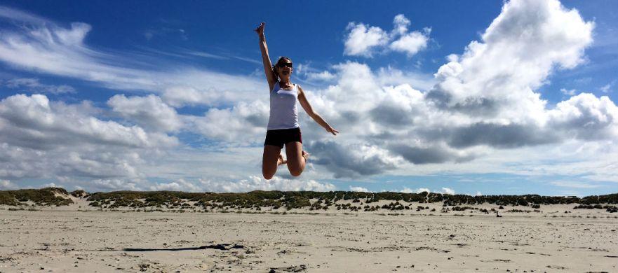 terschelling strand nederland waddeneiland