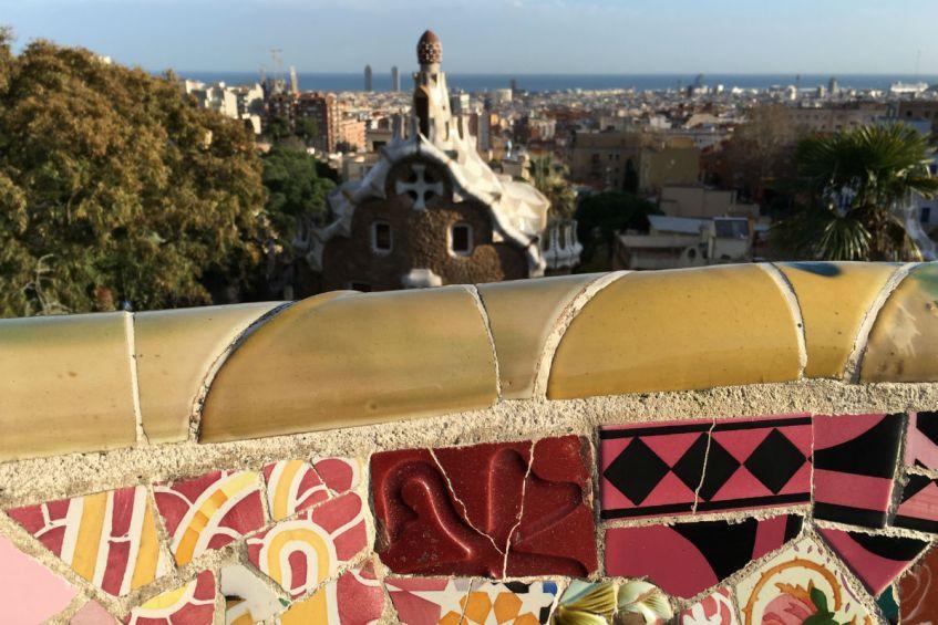 Park Guell in Barcelona verveelt nooit