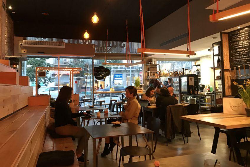 Somewhere Cafe in Barcelona Spanje