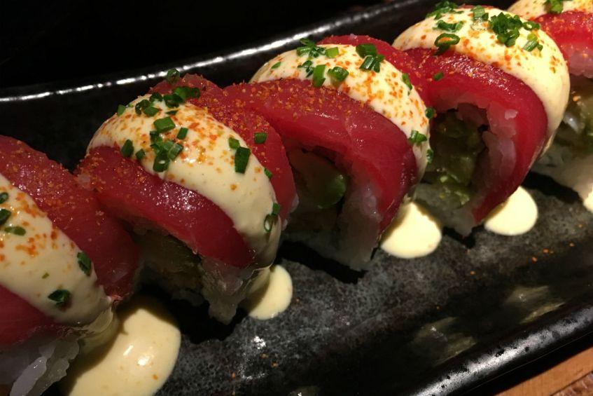 Sushi bij Robata Restaurant Barcelona in Spanje