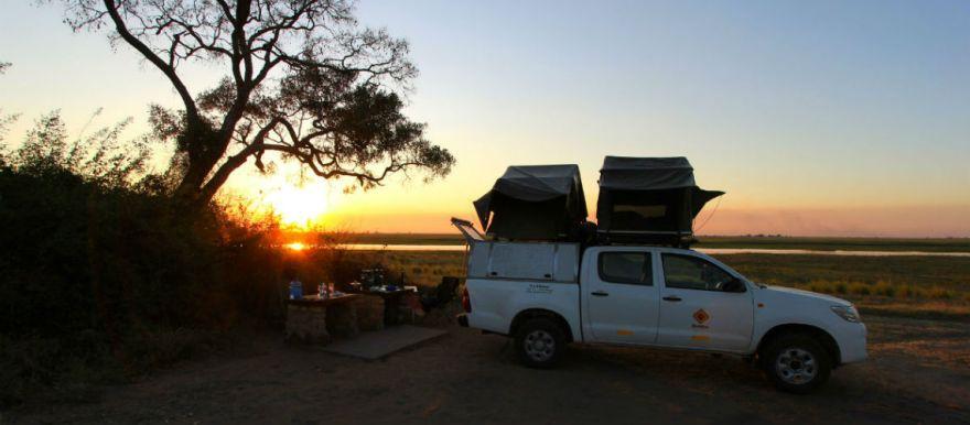 Chobe National Park Botswana Ihaha Campsite