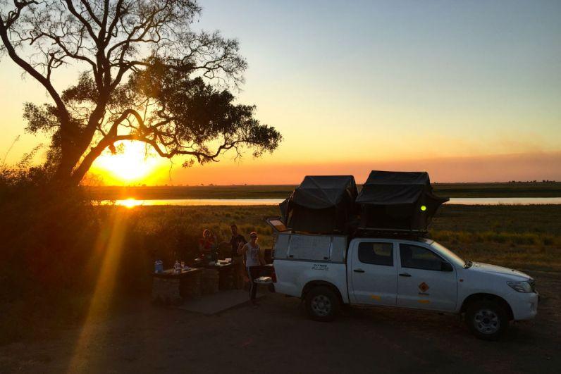 Kamperen in Botswana is geweldig, het is niet goedkoop maar zeer bijzonder