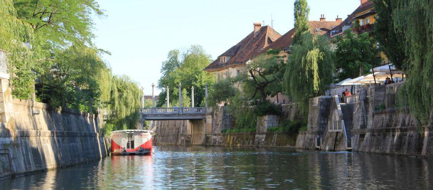 Romantisch Ljubljana in Slovenie