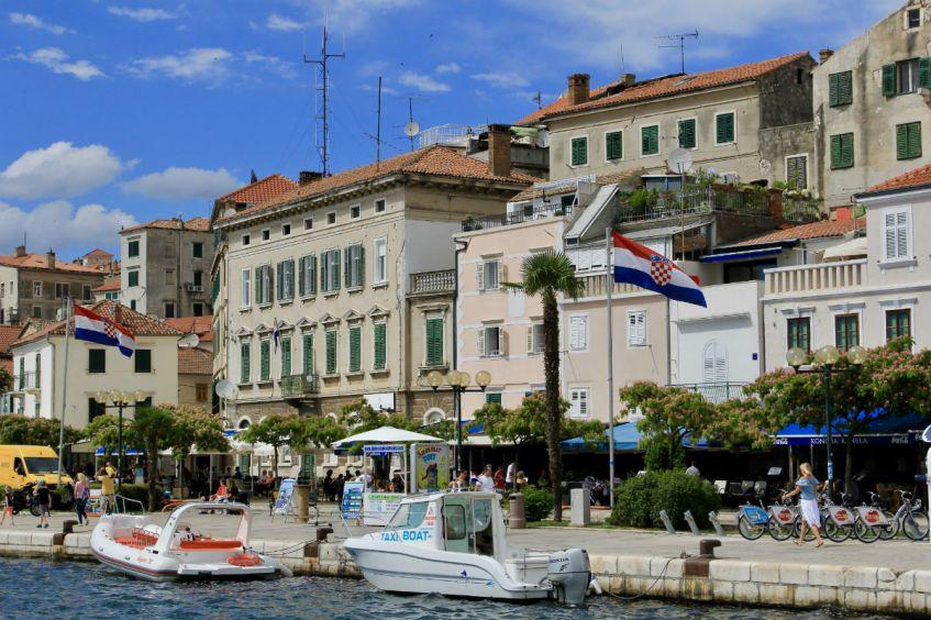 Sibenik is ook zeker de moeite waard als je in Dalmatie bent