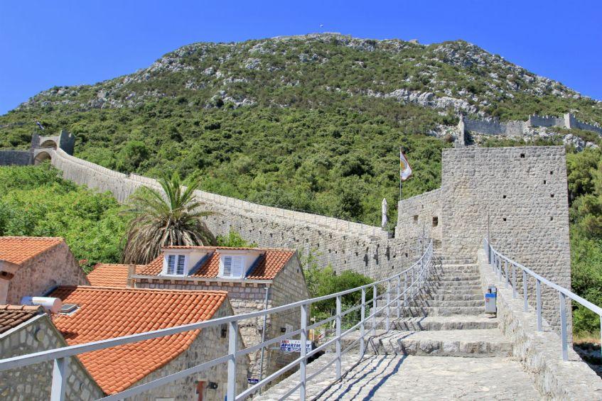 De muur van Ston en Mali Ston