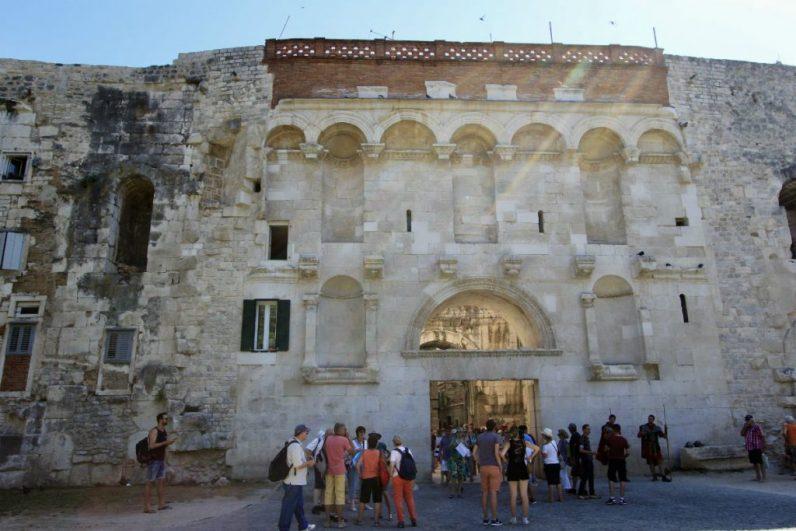 Het Paleis van Diocletianus tijdens mijn rondreis Dalmatie doen in split