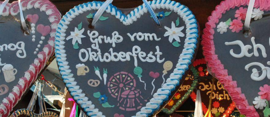 Gruss vom Oktoberfest in Munchen