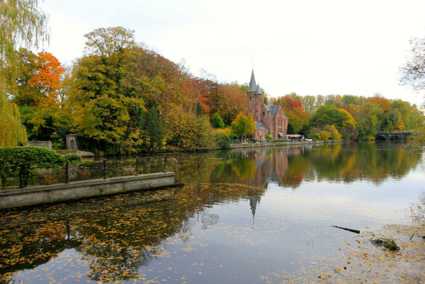 Kom tot rust in de Begijnhof tijdens een weekend Brugge