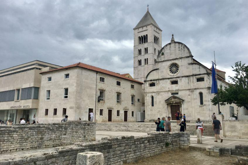 Romeinse bouwwerken in Zadar