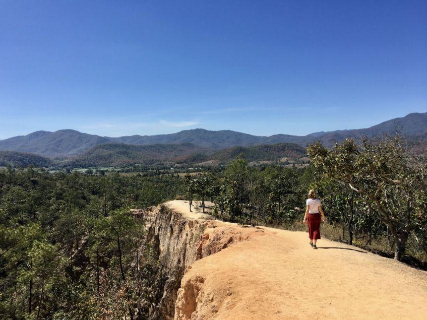 De mooie Pai Canyon in Pai Thailand