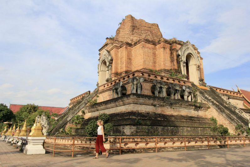 Doen in Chiang Mai - Ga tempels bekijken en bekijk de Wat Chedi Luang