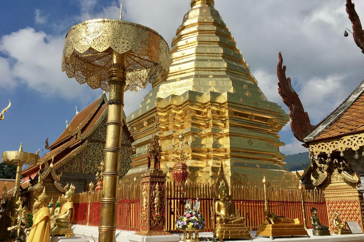 Doen in Chiang Mai - Naar Wat Phra Doi Suthep