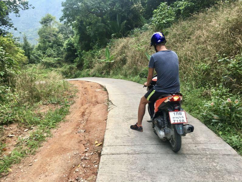 Koh Tao ontdekken met de scooter