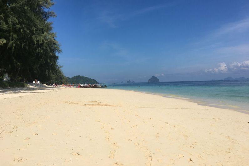 Paradijselijk Koh Kradan in Thailand