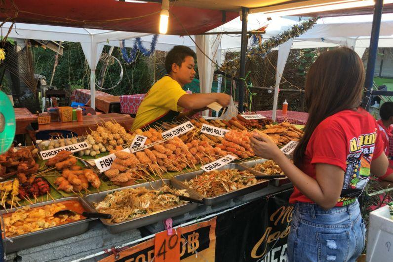 Streetfood kopen in Thailand