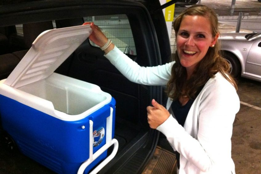 Koop een koelbox ter voorbereiding op je rondreis West Amerika