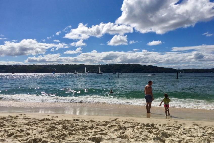 Heerlijk genieten op Shark Beach