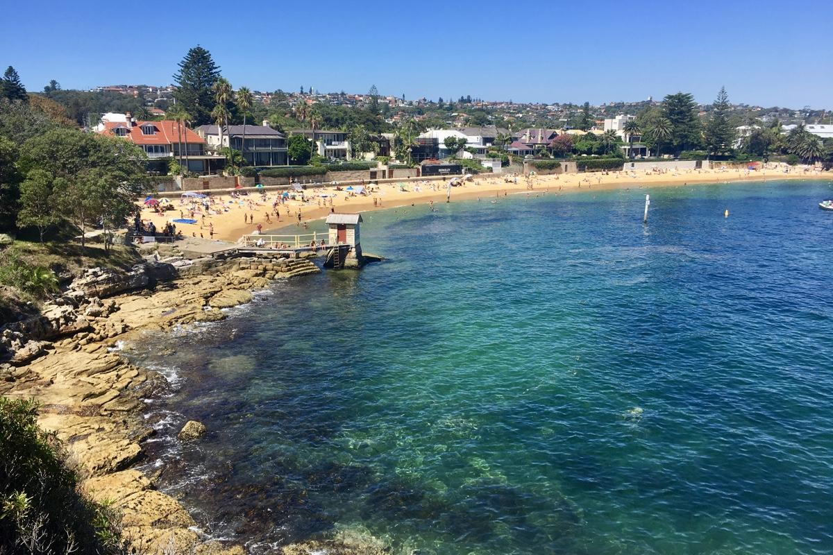 Het prachtige Camp Cove in Sydney