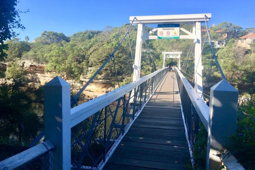 To do in Sydney wandel van Rose Bay naar Watson Bay en loop onderweg over de Parsley Bridge