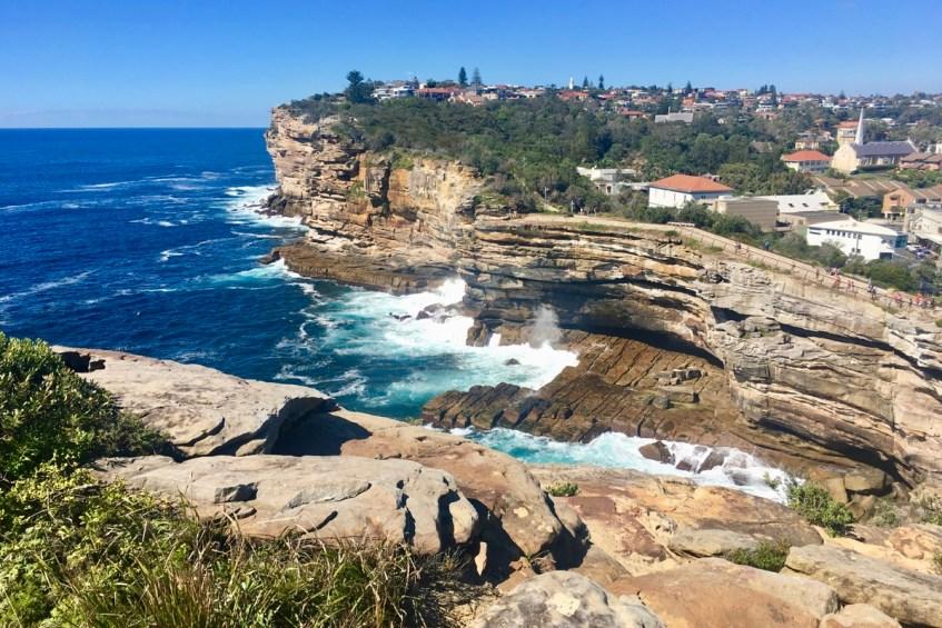 To do in Sydney wandel van Rose Bay naar Watson Bay en vergeet The Gap niet