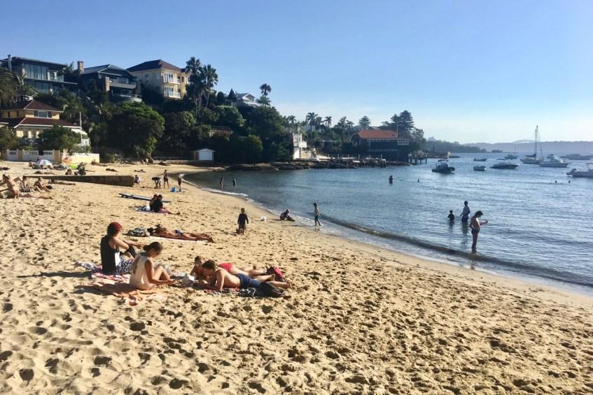 To do in Sydney wandel van Rose Bay naar Watson Bay