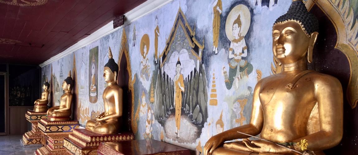 Thailand route een rondreis van 3 tot 4 werken
