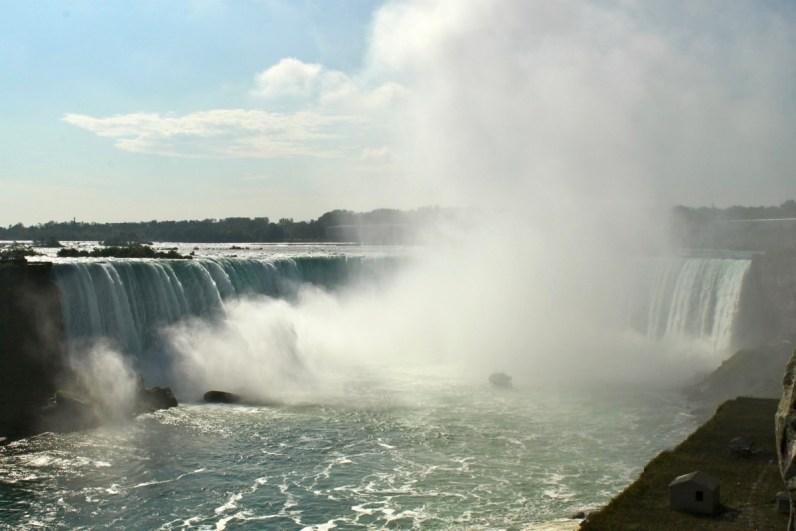 De Horsehoe Falls zijn erg indrukwekkend en horen zeker thuis in je rondreis Canada & New York