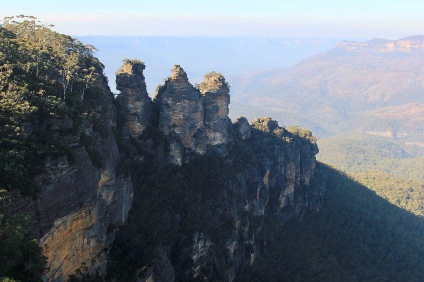De bekende Three Sisters mag je zeker niet missen als je de Blue Mountains vanuit Sydney bezoekt