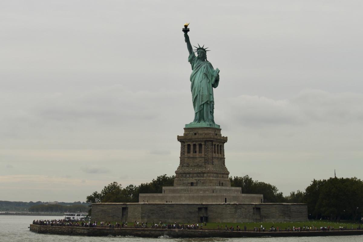 Het vrijheidsbeeld is een absolute must tijdens je rondreis Canada & New York