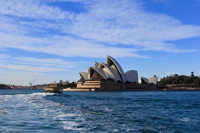 Nog even genieten van het mooie Sydney voordat we gaan roadtrippen door Australie