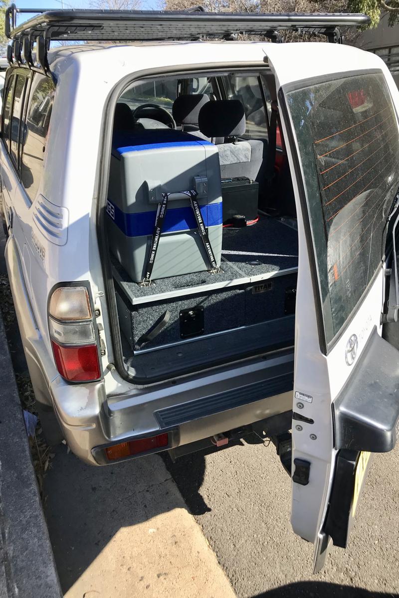 Roadtrip door Australie 5 maanden met een 4x4 met daktent met koelkast