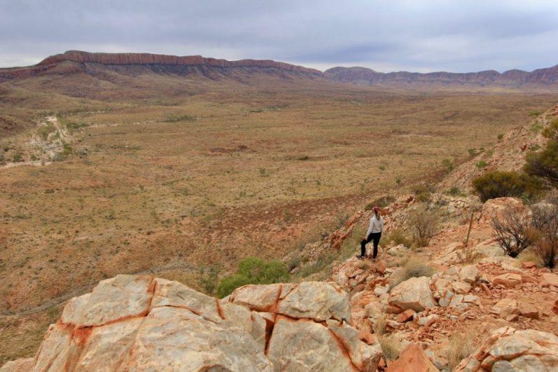 Als je gaat wandelen in Australië mag je een wandeling bij Ormiston Gorge niet missen