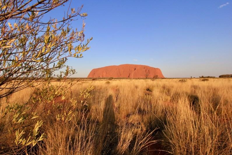 Tijdens een bezoek aan the red centre mag Uluru niet ontbreken