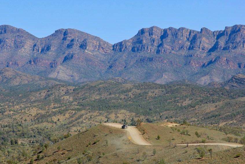 Sla Flinders Ranges niet over als je Zuid Australië bezoekt