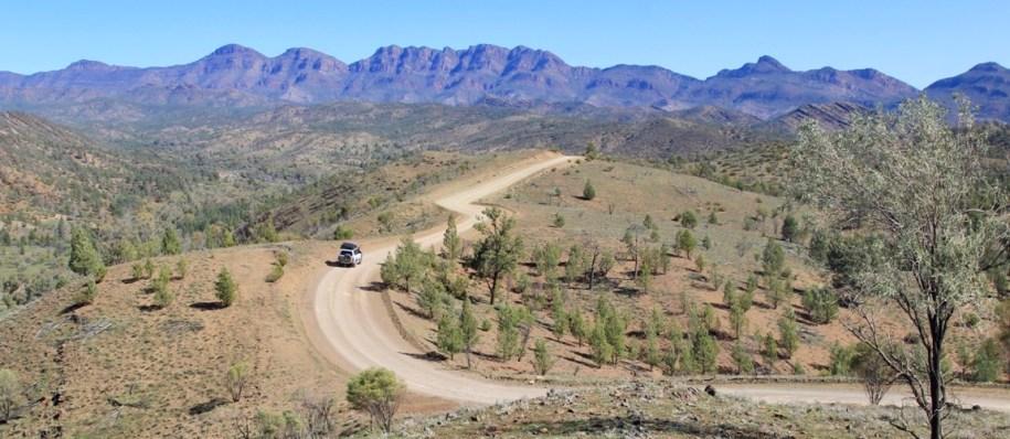 Mis de Razorback lookout niet tijdens je bezoek Flinders Ranges