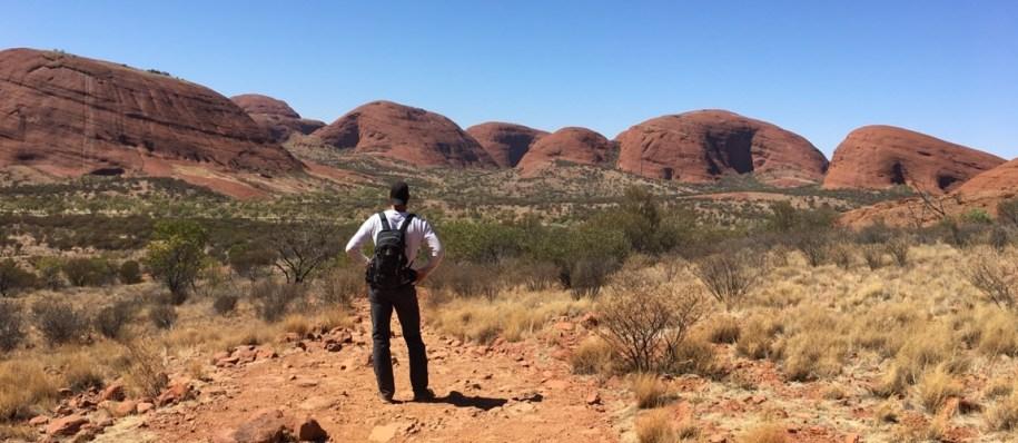 Een koele dag in de outback van Australie is erg fijn