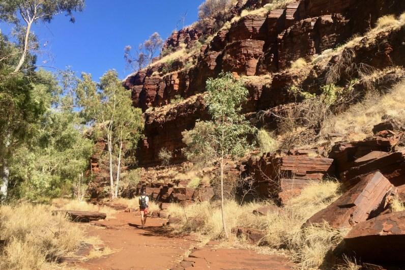 Karijini National Park is een must do in Western Australia