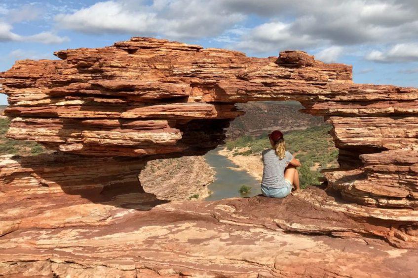 Kalbarri National Park is een highlighlight langs de westkust van Australie