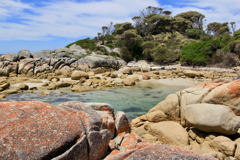 Op ontdekking in Tasmanië in Australië is geweldig