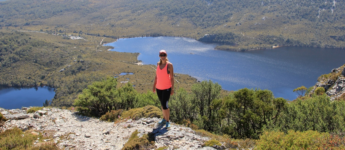 op ontdekking in Tasmanie en Cradle Mountain Australie