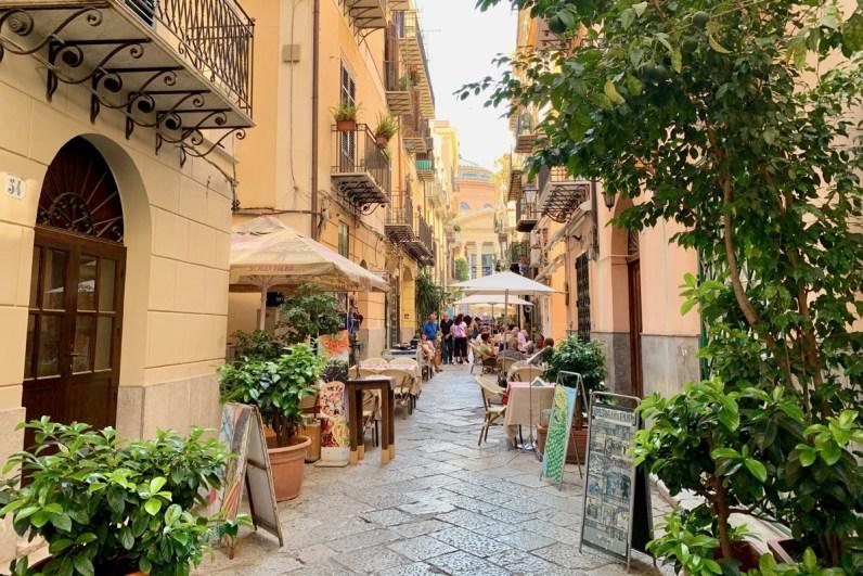 Lekker eten in Palermo