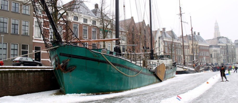 Groningen in de winter