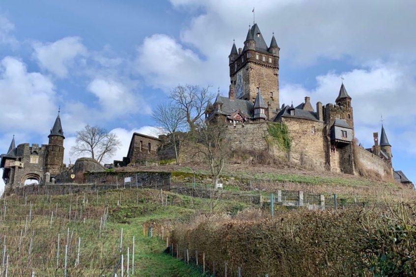 Reichsburg in Cochem is een van de leukste bezienswaardigheden langs de Moezel