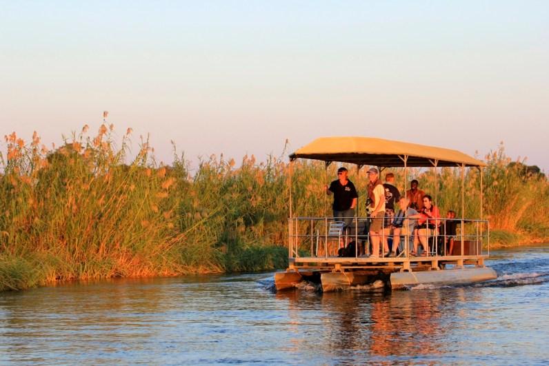 Als je gaat kamperen in Namibie bezoek dan ook de camping op de Caprivi Strip