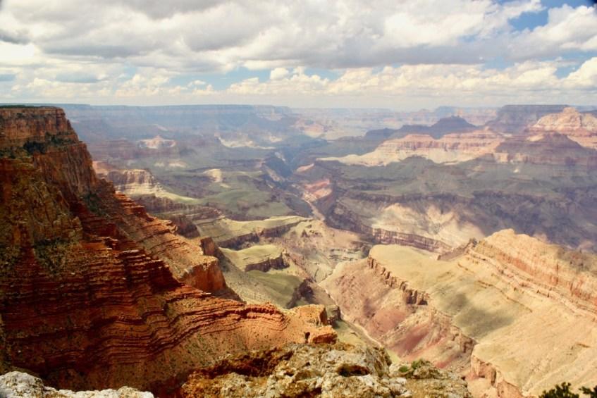 De Grand Canyon vanuit de helikopter zijn is een must in Amerika