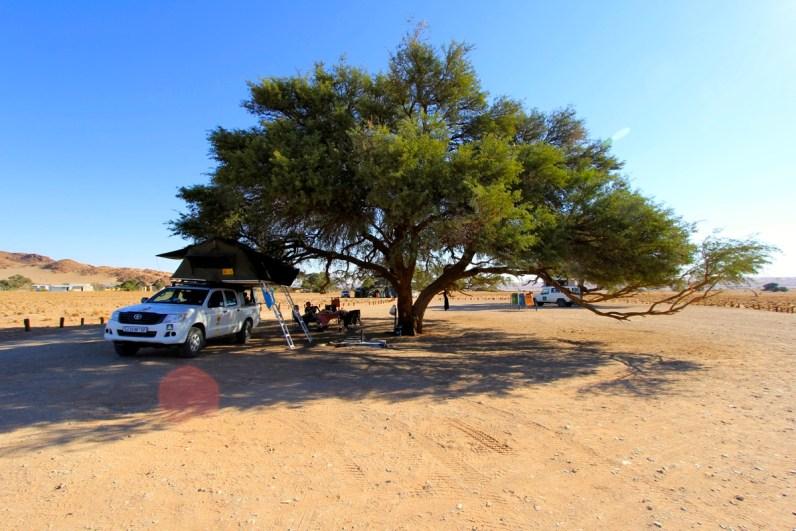 De leukste campings om te kamperen in Namibië