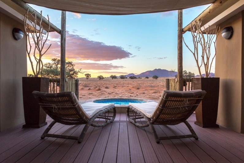 Sossusvlei Lodge sesriem Namibie
