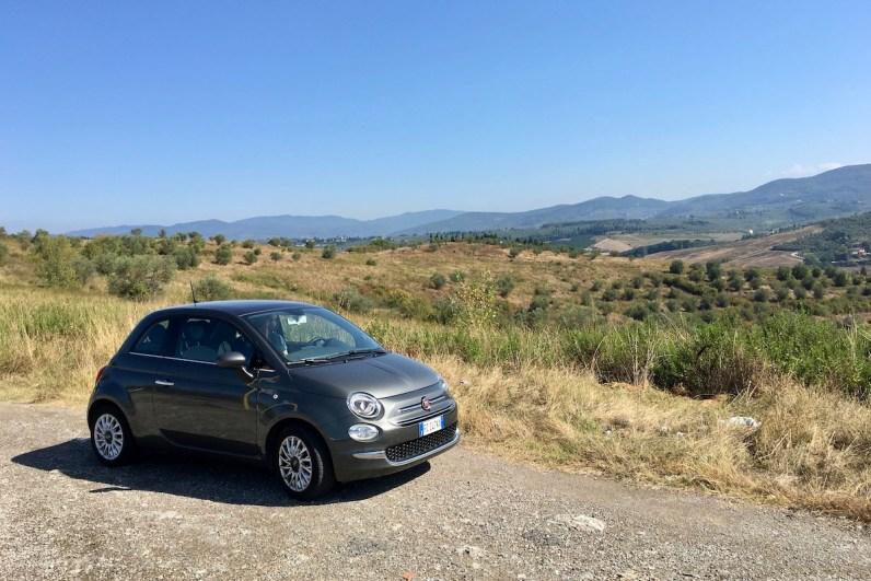 Met een huurauto op pad in Toscane is een goed idee